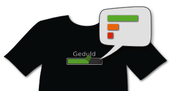Tshirt with speech bubble
