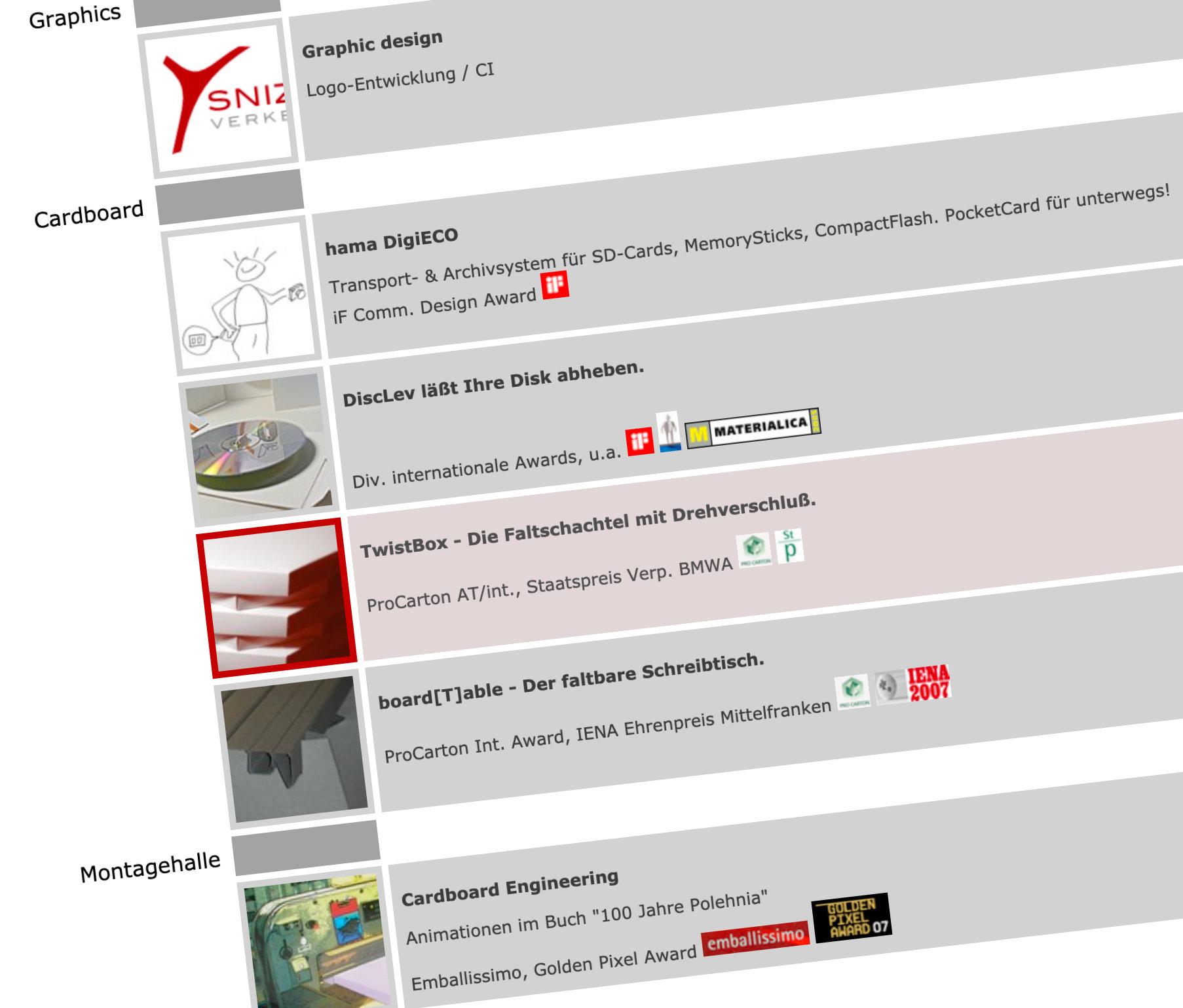 Screenshot von prausedesign.com